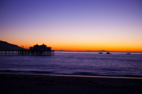 Malibu Pier at Sunrise